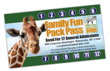 Family Pass Tickets