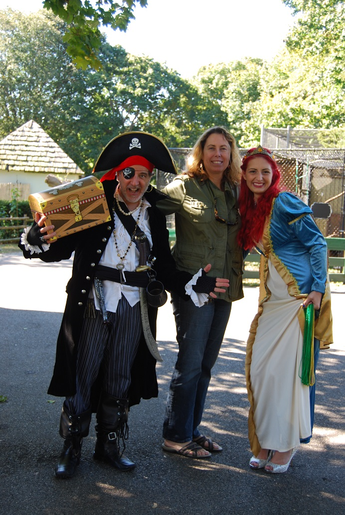 The Long Island Game Farm's Second Annual Pirates and Princesses Treasure Hunt was an Epic Adventure