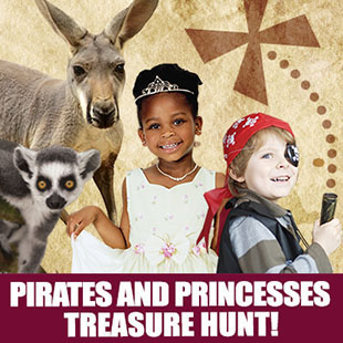 Adventure Sets Sail at the Long Island Game Farm's Pirates and Princesses Treasure Hunt