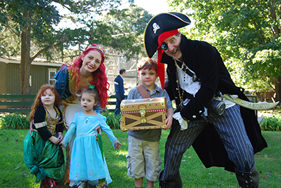 Hundreds Sought Adventure at the Long Island Game Farm's Pirates and Princesses Treasure Hunt