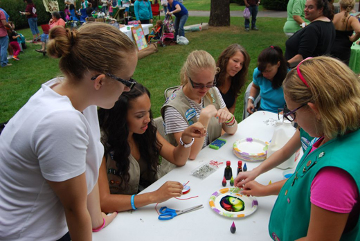 Long Island Game Farm Hosts Science-Themed Girl Scout Day