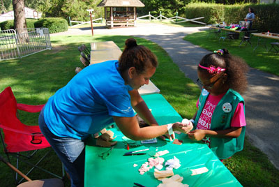 Local Girl Scouts Are Treated to a Special Day at the Long Island Game Farm