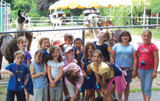 Register for Long Island Game Farm's Camp Zoo for the 2013 Season