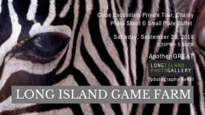 LIPG Close Encounters Private Tour, Charity Photo Shoot, & Buffet @ Long Island Game Farm