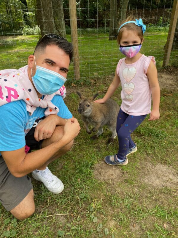 staying safe at the Long Island Game Farm