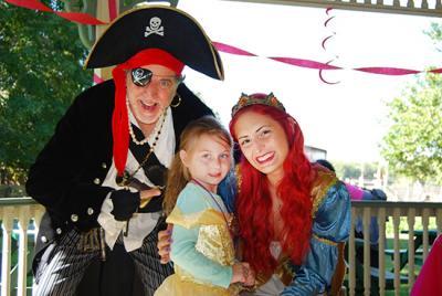 Pirates and Princesses Treasure Hunt 2015